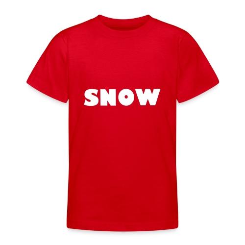 SNOW - Teenager T-Shirt