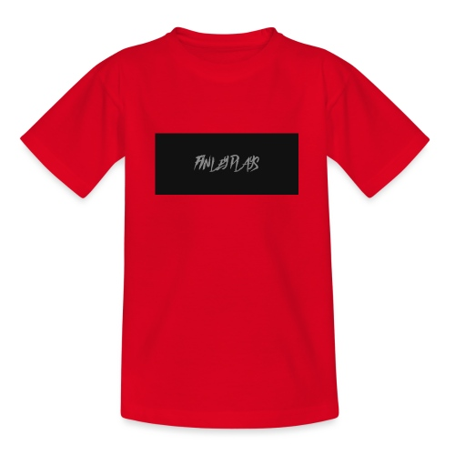 Finley plays merch - Teenage T-Shirt