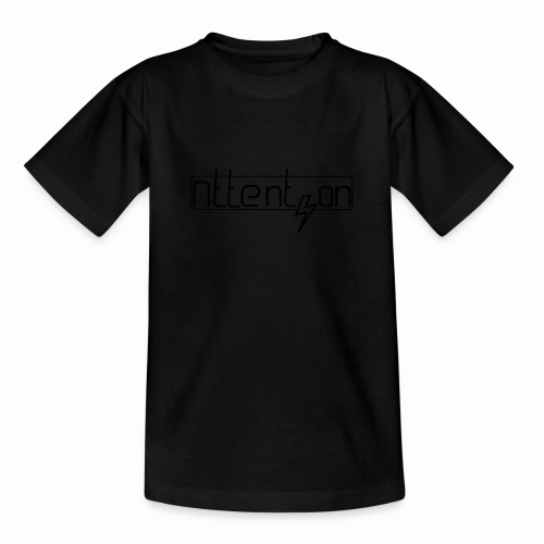 attention - Teenager T-shirt