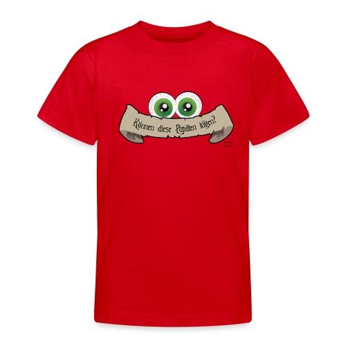 Können diese Pupillen lügen mit Pupillen - Teenager T-Shirt