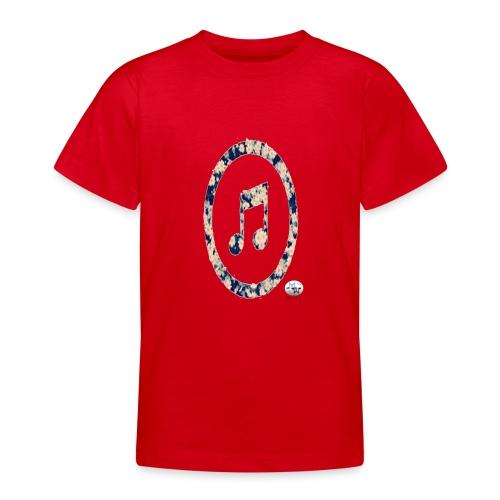 MusicFlower - Camiseta adolescente