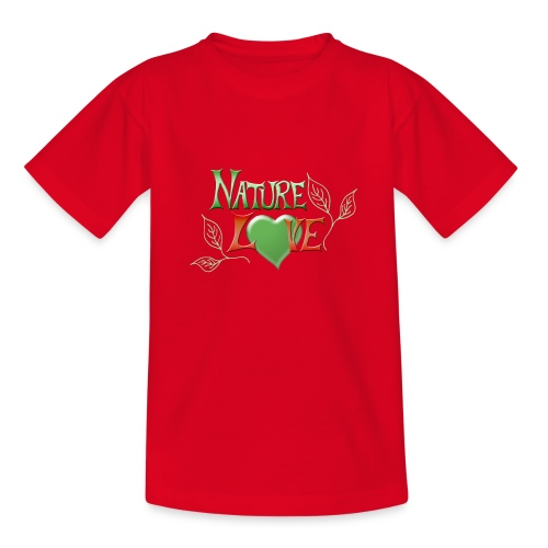 Nature Love - Teenager T-Shirt