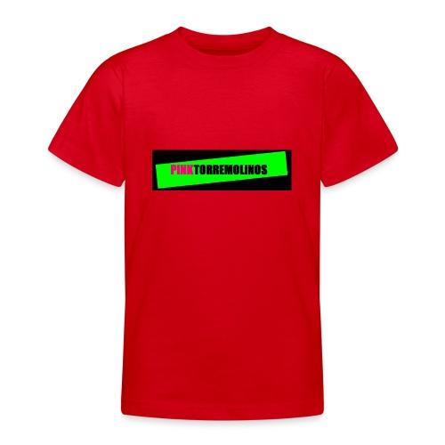 pinklogo - Teenager T-shirt