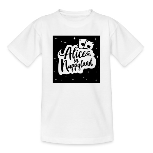 Alice in Nappyland 1 - Teenage T-Shirt