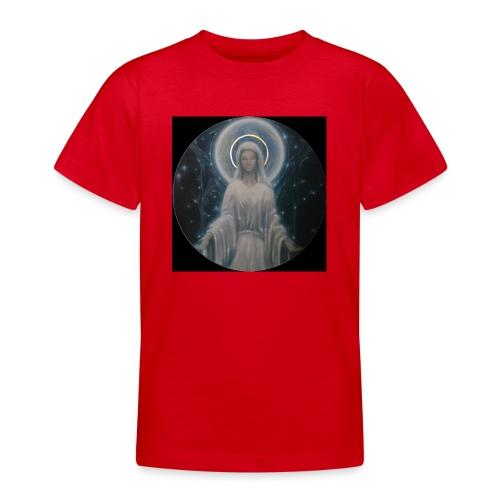 圣母玛利亚 Notre Dame by Jean Libon (Noir) - T-shirt Ado