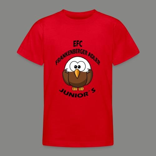 Junior Set in Schwarz - Teenager T-Shirt