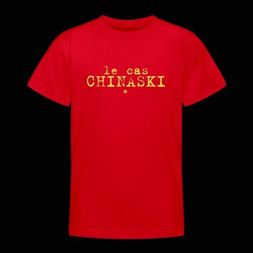 Le Cas Chinaski - T-shirt Ado