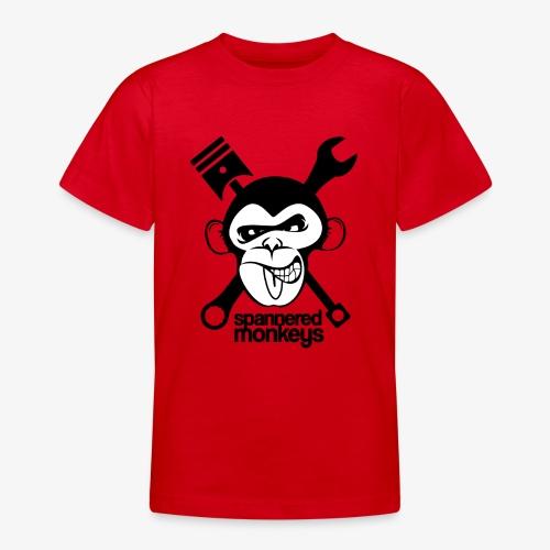 spanneredmonkeys-monkeyface - Teenage T-Shirt
