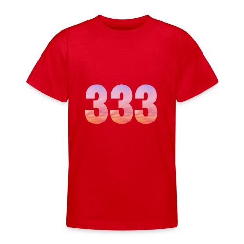 333 vous étes entouré de maitres ascensionnés - T-shirt Ado