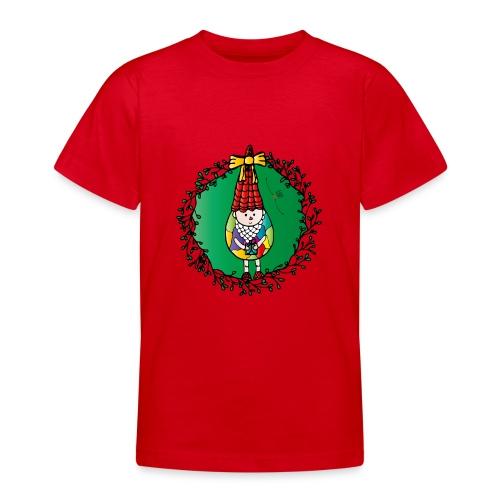 Weihnachtswichtel - Teenager T-Shirt