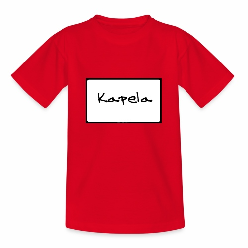 Old Kapela Design - Teenage T-Shirt