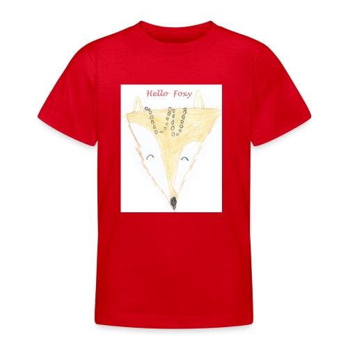Hello Foxy - Teenage T-Shirt