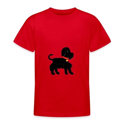 Schnauzer dog - Teenage T-Shirt