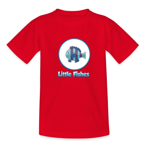 Little Fishes Logo - Teenage T-Shirt
