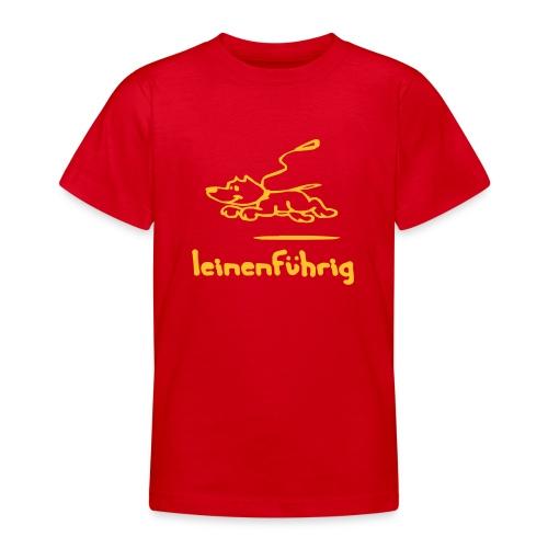 leinenführig - Teenager T-Shirt