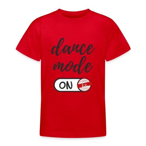 Shirt dance mode schw - Teenager T-Shirt