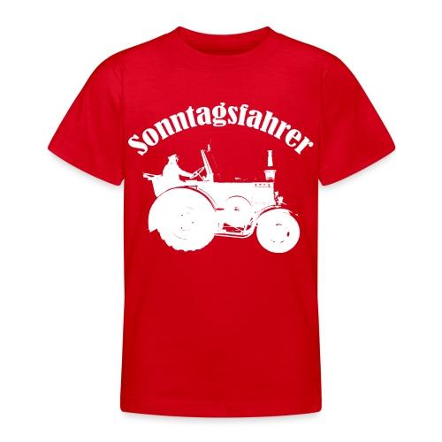 Sonntagsfahrer Landwirt - Teenager T-Shirt