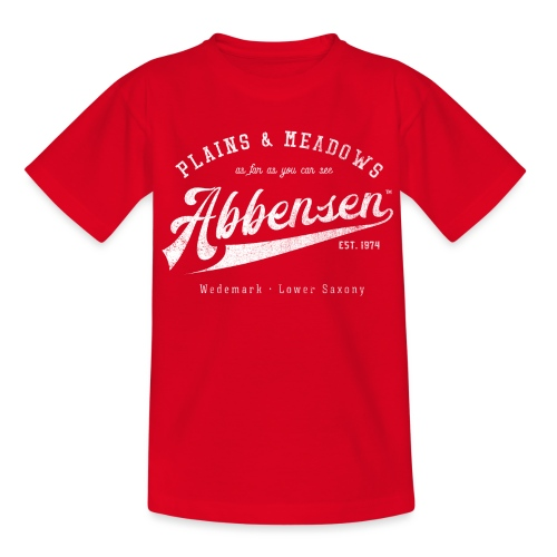 Abbensen retro destroyed - Teenager T-Shirt
