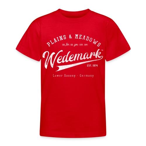 Wedemark Retrologo - Teenager T-Shirt