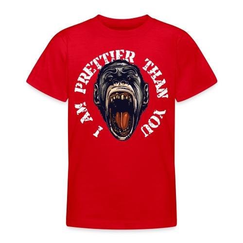 I am prettier than you - Teenager T-Shirt