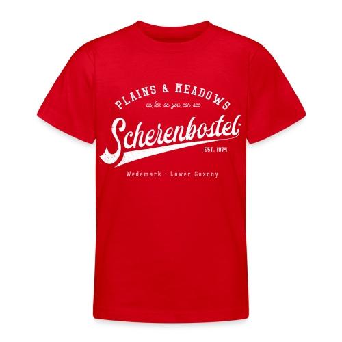 Scherenbostel Retrologo - Teenager T-Shirt