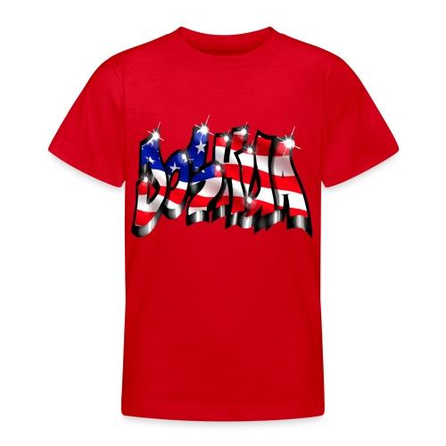 GRAFFITI JOSHUA USA STYLE PRINTABLE ON EVERYTHING - T-shirt Ado