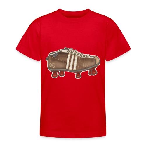 Vintage Fussbalschuhe / Soccer Shoes - Teenager T-Shirt
