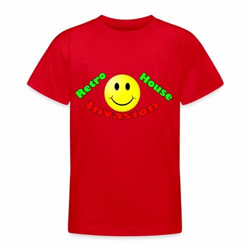 Retro House Invasion - Teenager T-shirt