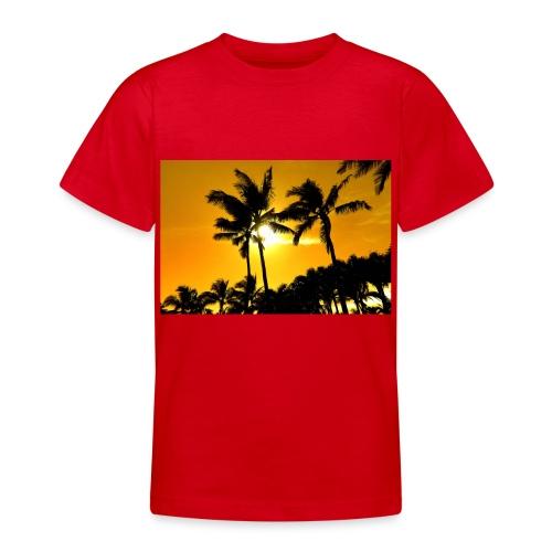 pam trees - T-shirt tonåring