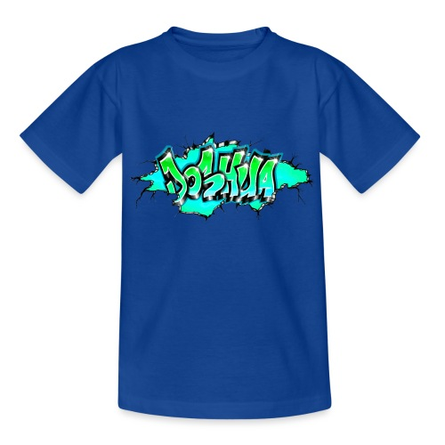 GRAFFITI JOSHUA PRINTABLE WALL BROKE - T-shirt Ado