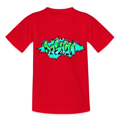 GRAFFITI JOSHUA PRINTABLE WALL BROKE - T-shirt Ado