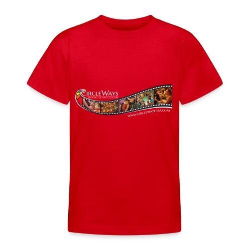 Circleways Filmrolle weiß - Teenager T-Shirt
