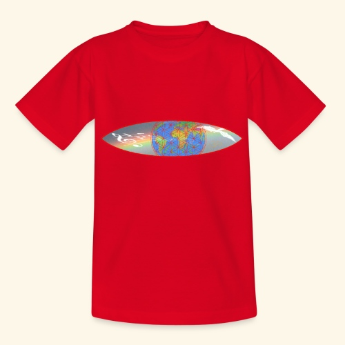 Heal the World - Teenager T-Shirt
