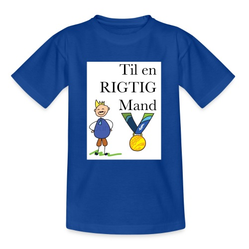 En rigtig mand - Teenager-T-shirt