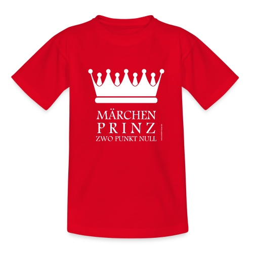 Märchenprinz zwo punkt null Boys - Teenager T-Shirt