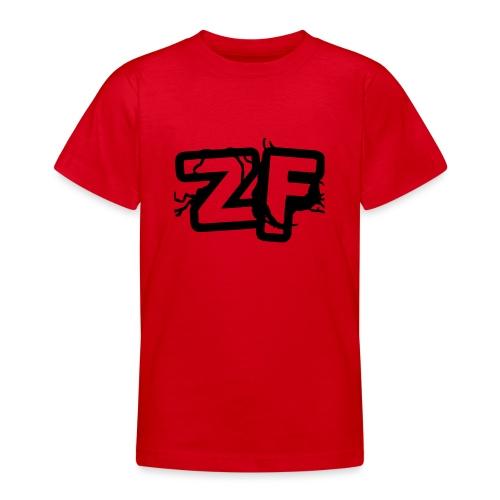 Zckrfrk BLACK Edition - Teenager T-Shirt