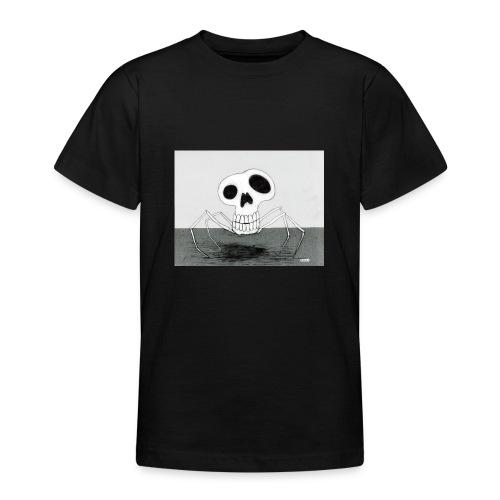 skull spider - T-shirt tonåring