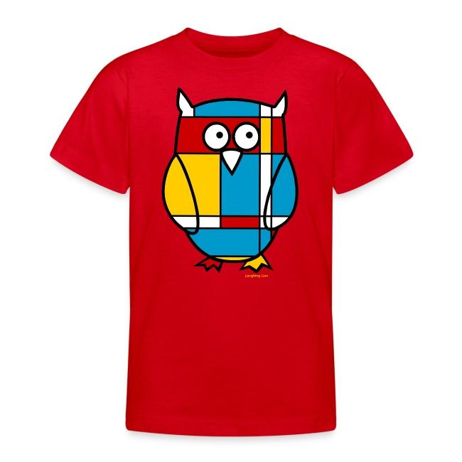 Mondrian Owl