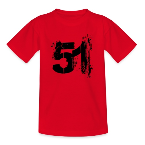 City_51_Köln - Teenager T-Shirt