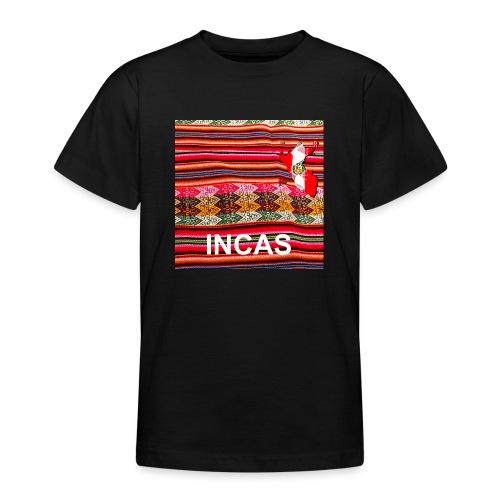Telar inca Mapa del Peru - Teenage T-Shirt