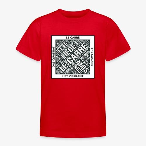 Le Carré - Liège - T-shirt Ado