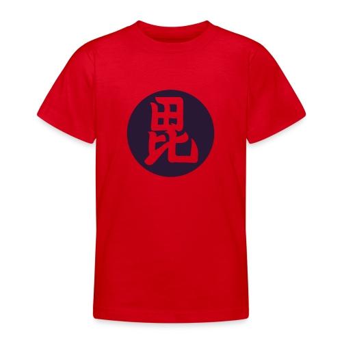 Uesugi Mon Japanese samurai clan in purple - Teenage T-Shirt