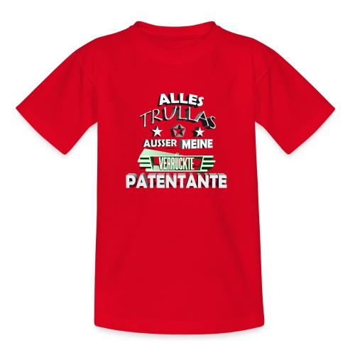 trullas patentante 3d - Teenager T-Shirt