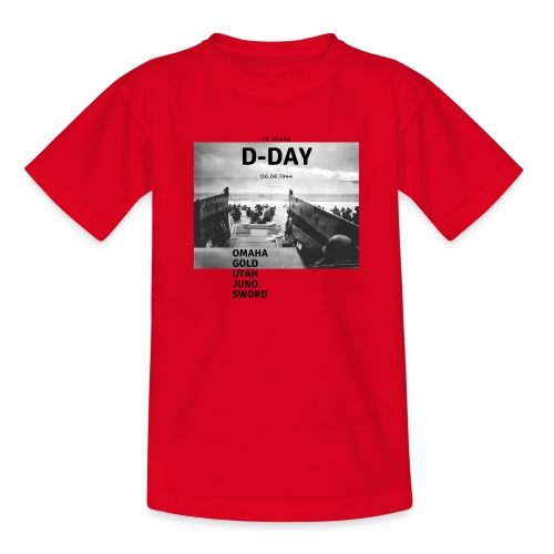 75 Jahre D-Day - Teenager T-Shirt