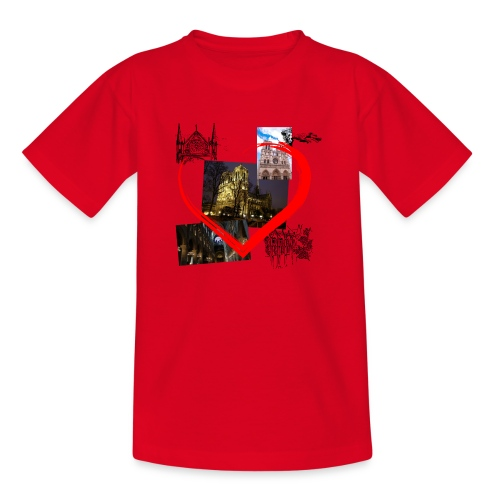 Notre Dame de Paris - Teenager T-Shirt
