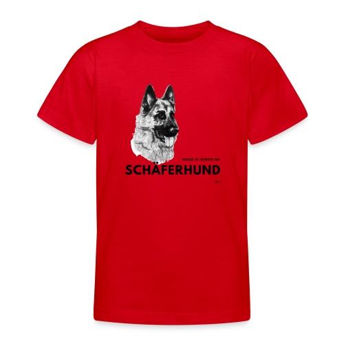 Home is where my Schäferhund is ! - Teenager T-Shirt