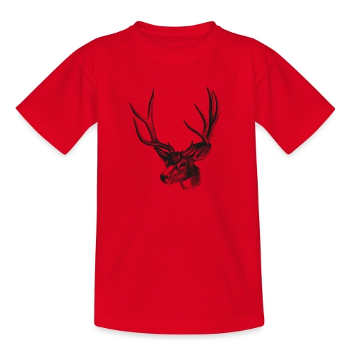 Hirsch - Teenager T-Shirt