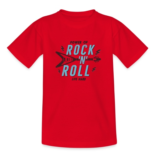 Rock n Roll - Teenager T-Shirt