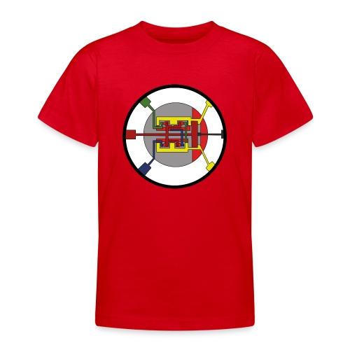 JackJohannes Hemp's Oscillator - Teenager T-shirt