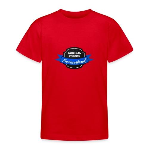 TFS Ruban noir et bleu - T-shirt Ado